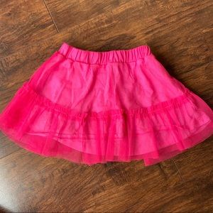 Old Navy hot pink skirt
